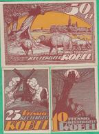 3 Billets - Deutschland - Robel , 3  Scheine Von 1922 - [11] Local Banknote Issues