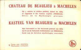 Kasteel Van Beaulieu Te Machelen (9 Zichtkaarten, Nels) - Machelen