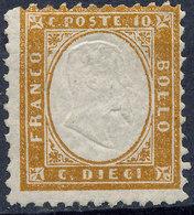 Stamp Italy 1862 10c Mint Lot8 - 1861-78 Vittorio Emanuele II