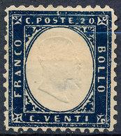 Stamp Italy 1862 20c Mint Lot9 - 1861-78 Vittorio Emanuele II
