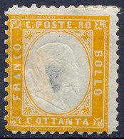 Stamp Italy 1862 80c Mint Lot14 - 1861-78 Victor Emmanuel II.