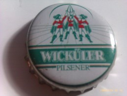 Chapa Kronkorken Caps Tappi Cerveza Wickuler. Alemania - Birra