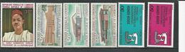 CAMEROUN Scott 488, C122-C124, C133-C134 Yvert 468, PA133-PA135, PA144-PA145 (6) ** Cote 6,50$ 1969 - Cameroun (1960-...)