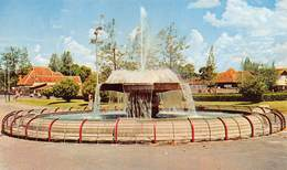 """07331 """"THE FOUNTAIN IN FRONT  OF THE MUNICIPAL BUILDING, SURABAJA - INDONESIA"""" CART. ORIG. NON SPED. - Indonesia"""