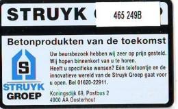 Telefoonkaart  LANDIS&GYR NEDERLAND * RCZ.465  249b * STRUYK * TK * ONGEBRUIKT * MINT - Nederland