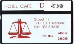Telefoonkaart  LANDIS&GYR NEDERLAND * RCZ.467   249b * Hotel Café De Waag * TK * ONGEBRUIKT * MINT - Privat