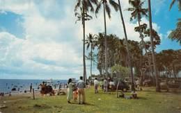 "07335 ""TJILINTJING BEACH, DJIAKARTA - INDONESIA"" CART. ORIG. NON SPED. - Indonesia"