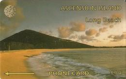 *ASCENSION ISLAND - 6CASB* - Scheda Usata - Ascension (Insel)
