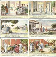 Série De 6 Chromos Liebig VIRGILE CHANTRE D'AUGUSTE (scan Verso) - Liebig