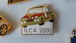 Pin's  Renault 5 Turbo Rallye - Rallye
