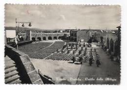 TRIESTE - CASTELLO - CORTILE DELLE MILIZIE  - VIAGGIATA FG - Trieste