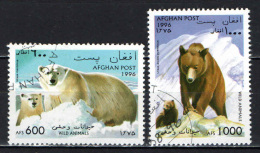 AFGHANISTAN - 1996 - GLI ORSI - USATI - Afghanistan