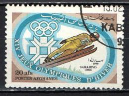 AFGHANISTAN - 1984 - OLIMPIADI INVERNALI DI SARAJEVO - USATO - Afghanistan