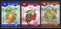 AFGHANISTAN - 1984 - GIORNATA MONDIALE DELL'ALIMETAZIONE: FRUTTI - USATI - Afghanistan