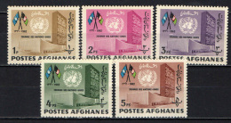 AFGHANISTAN - 1962 - GIORNATA DELLE NAZIONI UNITE - GOMMA MACCHIATA - MNH - Afghanistan