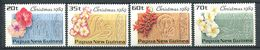 227 PAPOUASIE NOUVELLE GUINEE 1989 - Yvert 601/04 - Noel Fleur - Neuf **(MNH) Sans Trace De Charniere - Papua New Guinea