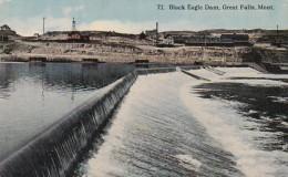 Montana Great Falls Black Eagle Dam - Great Falls