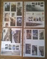 Lot De 8 Pages De Blocs & Carnets 72 Timbres LE SEIGNEUR DES ANNEAUX / LORD OF THE RINGS - Cinéma