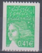 Année 2002 - N° 3458a Et 3458b - Marianne De Luquet - Timbres De Roulettes Avec N° Rouge 440 Et Noir 336 - Roulettes