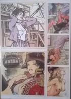Lot De 21 Cartes Illustrateur Milo MANARA + 2 Corto MALTESE - Otras Colecciones