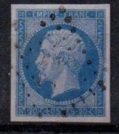 FRANCE - 20 C. Replaqué - 1853-1860 Napoleon III