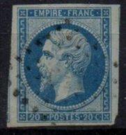 FRANCE - 20 C. Bleu Sur Vert FAUX - 1853-1860 Napoléon III