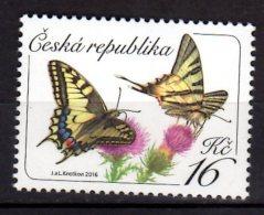 2016 Czech Rep. Butterfly - Papilio Machaon / Schwalbenschwanz - 1v -MNH** MI  881 (üü18) - Tschechische Republik