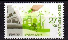 2016 Czech Rep. Europa CEPT - Green - 1v -MNH** MI  882 (üü18) - Tschechische Republik