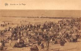 KNOCKE - La Plage - Knokke