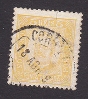 Ponta Delgada, Scott #1, Used, King Carlos, Issued 1892 - Ponta Delgada