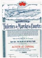 Action Ancienne - Tuileries De Marcke-lez-Courtrai - - Industrie