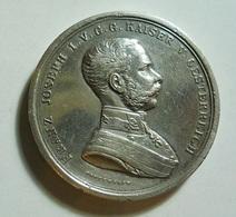 Silver Medal * Franz Joseph I. V. G. G. Kaiser V. Oesterreich * Der Tapferkeit - Non Classés