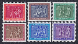 Luxembourg 1953 Tradition, MNH (**) Michel 517-522 - Luxembourg