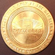 $1 Casino Token. The Gambler, Reno, NV. D85. - Casino