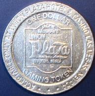 $1 Casino Token. Union Plaza, Las Vegas, NV. 1989. D85. - Casino