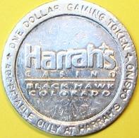 $1 Casino Token. Harrahs, Black Hawk, CO. D86. - Casino