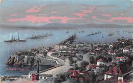 Gibraltar Harbor With Ship - Prudential Life Insurance - Gibraltar