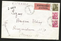M) 1967 ITALY, EXPRESS, ILLUSTRIOUS PEOPLE, CIRCULATED  WITHIN ITALY. - Italy