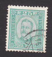 Ponta Delgada, Scott #5, Used, King Carlos, Issued 1892 - Ponta Delgada