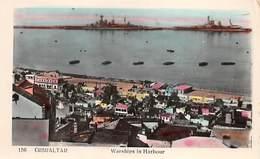 Gibraltar Warships In Harbour - Gibraltar