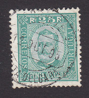 Ponta Delgada, Scott #5a, Used, King Carlos, Issued 1892 - Ponta Delgada