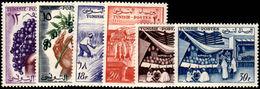 Tunisia 1956-57 Tunisian Products Unmounted Mint. - Tunisia