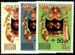 Bhutan 1964 Winter Olympics  Unmounted Mint. - Bhoutan