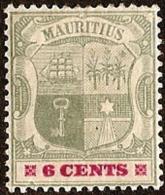 Mauritius,  Scott 2018 # 103,  Issued 1895,  Single,  MLH,  Cat $ 5.75, - Mauritius (...-1967)