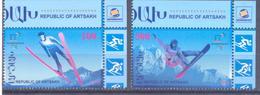 2018. Mountainous Karabakh, Winter Olympic Games 2018, 2v, Mint/** - Armenia