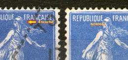 Variété N° 279*_1 Bonnet Encoché_1 Normal_2 Nuances - 1906-38 Sower - Cameo
