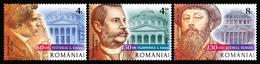 "Romania 2018 / CULTURAL ANNIVERSARIES 2018 ""GEORGE ENESCU"" PHILHARMONIC BUCHAREST, 150 YEARS ROMANIAN ATHENAEUM, - Musique"