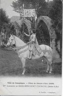 OISE-COMPIEGNE-Fêtes De Jeanne D'Arc Mlle Adrienne De BAILLIENCOURT COURCOL-MO - Compiegne