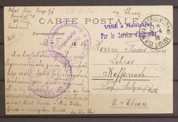 1916 CP Prisonniers De Guerre Camp De Monistrol Haute Loire X3530 - 1877-1920: Semi Modern Period