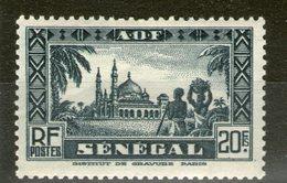 N° 137* - Senegal (1887-1944)